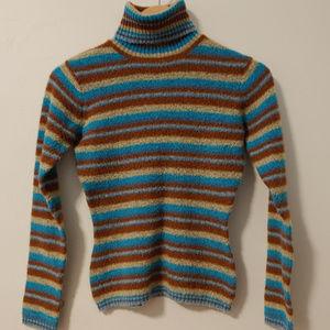 Tulle Anthropologie Wool Blend Turtleneck Sweater
